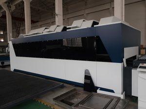1000wステンレス鋼の炭素鋼の鉄CNCの薄板金繊維レーザーの打抜き機