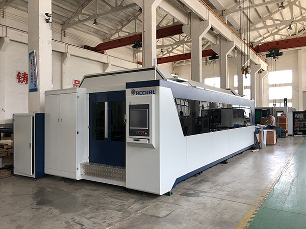 12mm CNC板金レーザー切断機|繊維レーザーの打抜き機の価格3KW 2KW 1KW 500W
