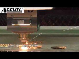 ステンレス鋼、軟鋼12mm、スチールシートCNCレーザー用2000W金属レーザー切断機