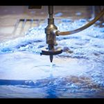3D 5軸ウォータージェットCNCマシン-ウォータージェット切断ステンレス鋼-高圧ウォータージェット