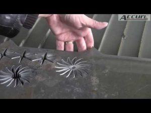 5D 5軸ウォータージェットCNCマシン-CNCウォータージェット切断機-厚い金属切断