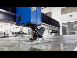 ACCURLウォータージェット切断機、ウォータージェット切断用金属、石、ガラス、スチール