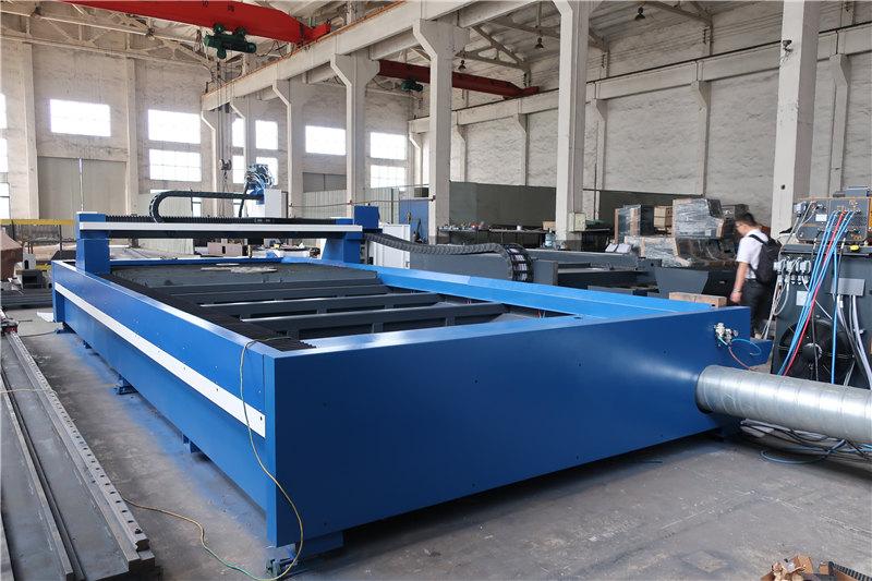 片面駆動CNCフレーム切断機、任意の形状の板金プラズマカッター