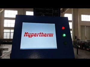 Hypertherm HyPerformance Plasma HPR400XDを搭載したCNCプラズマ切断およびOXYフレーム切断機