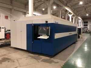 ステンレス鋼のレーザーの切断の店レーザーの切断の仕事のための高出力CNC繊維レーザーの打抜き機