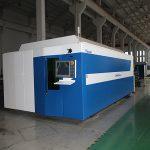 業界で広く使用されているファイバーレーザー切断機750w / 1000w価格