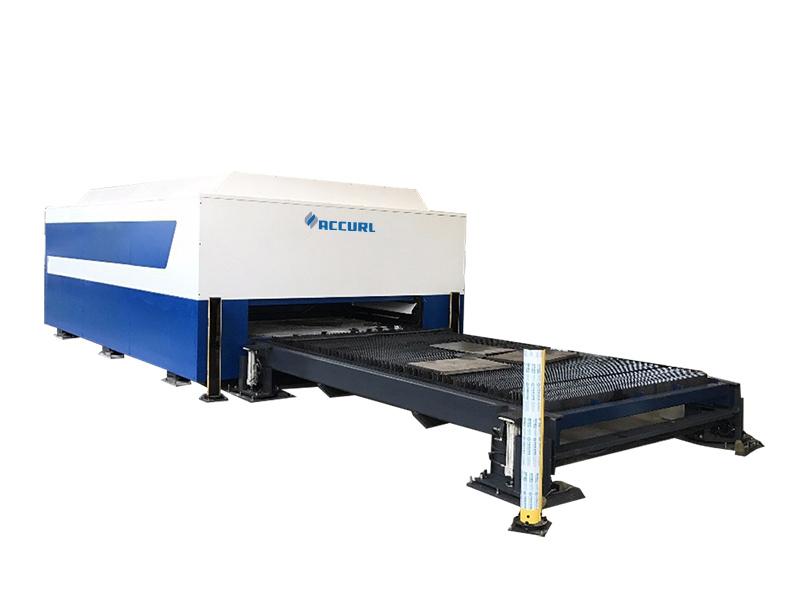 CNCレーザー切断機のビデオ