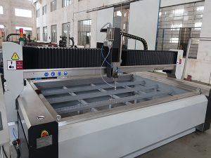KMTポンプを備えたガラスウォータージェット切断機の価格