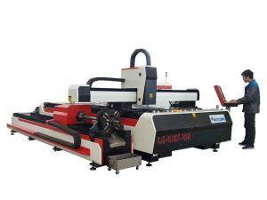 0.5-16mmの厚さの打抜き機のための薄い金属レーザーの打抜き機繊維500w 1000w 2000w