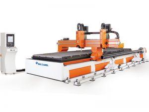 CNCパイププロファイリングとプレート切断機3軸